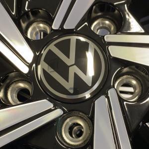 Originele VW naafkapjes VW 5H0 601 171 (Nieuw logo).