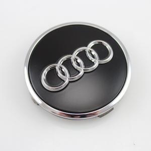 Originele Audi naafkapjes Zwart 8W0 601 170A AX1